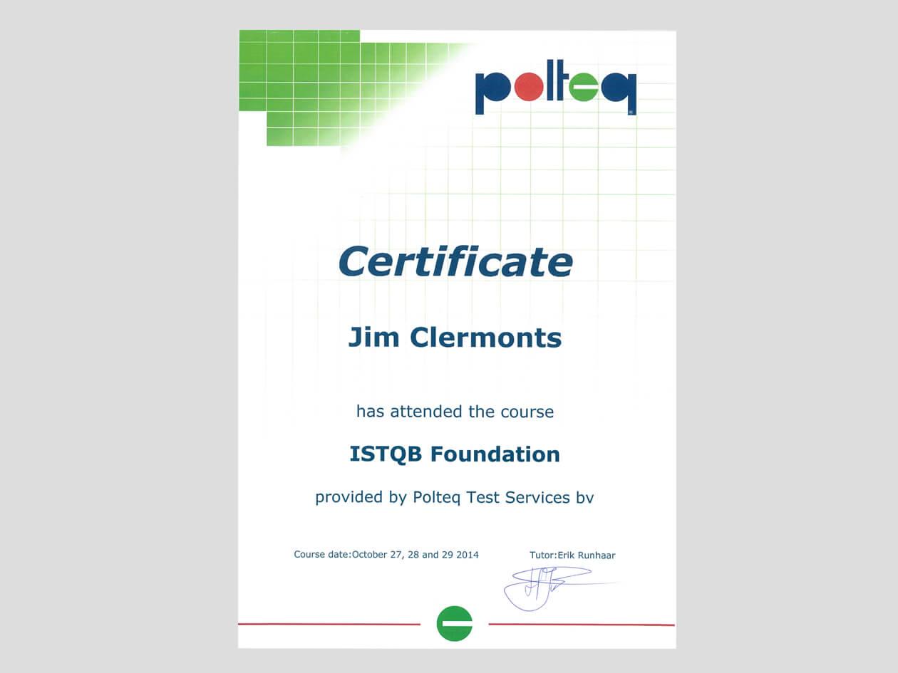 ISTQB Foundation